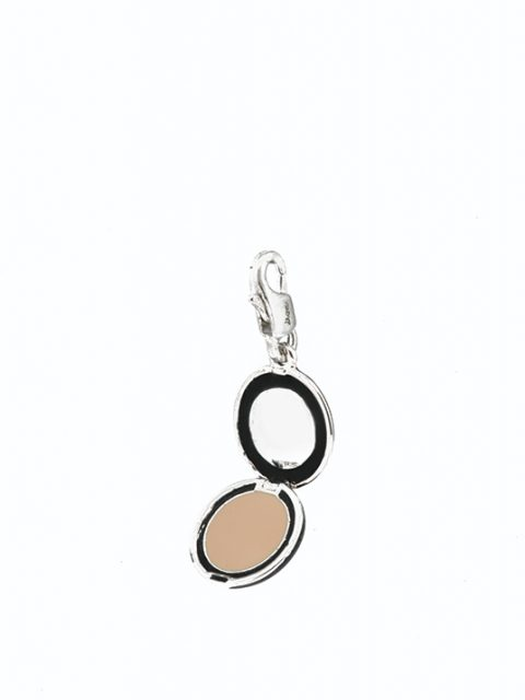 cosmetic powder rhodium charm