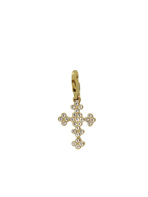 vintage cross gold charm