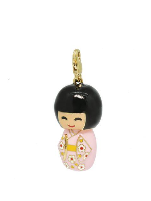 kokeishi doll Pako-san gold charm