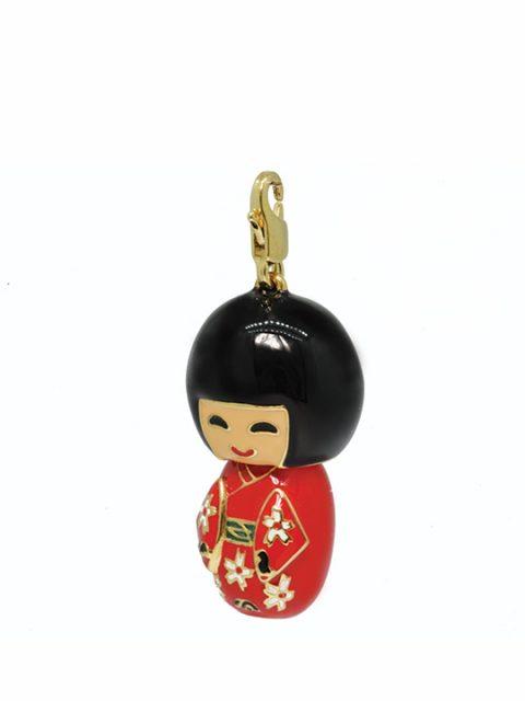 kokeishi doll rima-san gold charm
