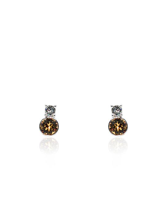 sunkiss rhodium earring