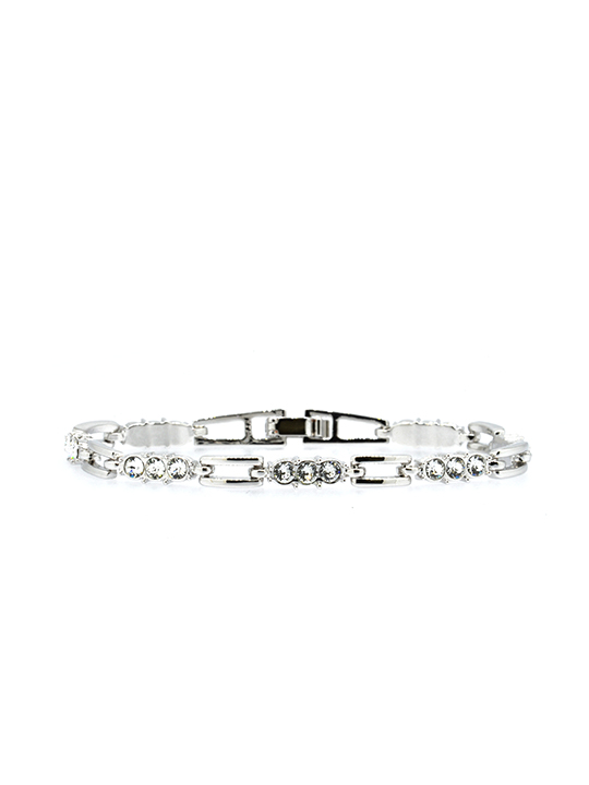 midnight stars rhodium bracelet
