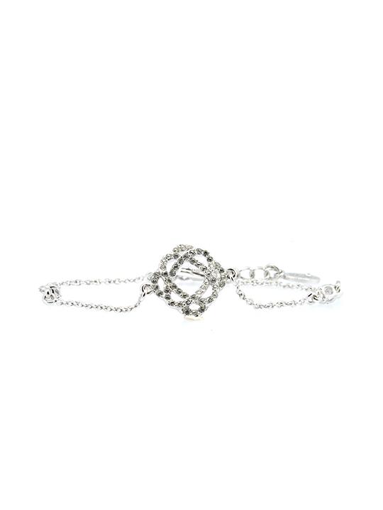 Rosie rhodium bracelet