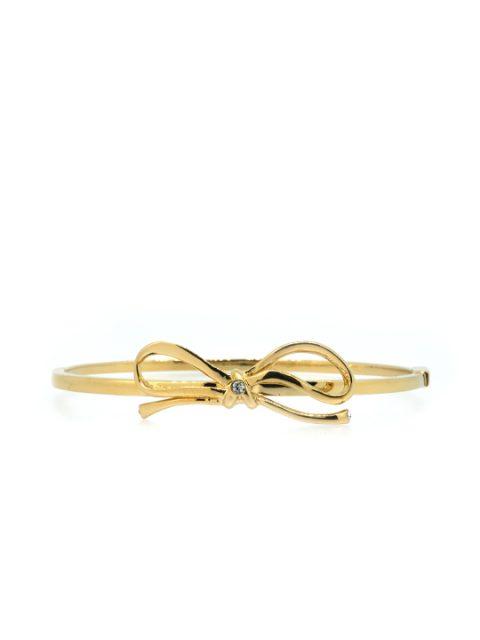 Tie Me A Ribbon Gold Bracelet