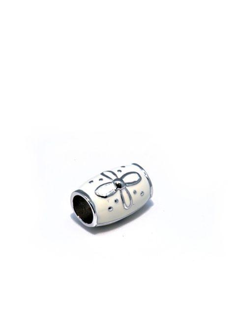 shepard bead rhodium becharmed white sideview