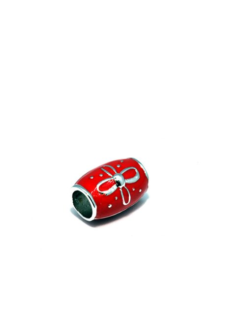 shepard bead rhodium becharmed red sideview