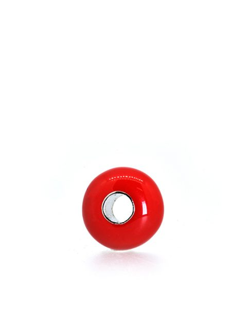 Romeo Bead Rhodium Becharmed red sideview