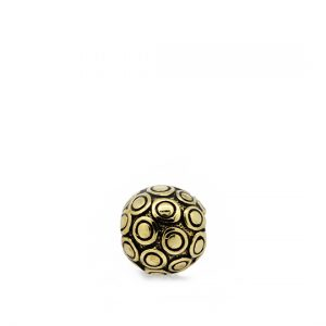 Antique grunge gold bubble ball becharmed