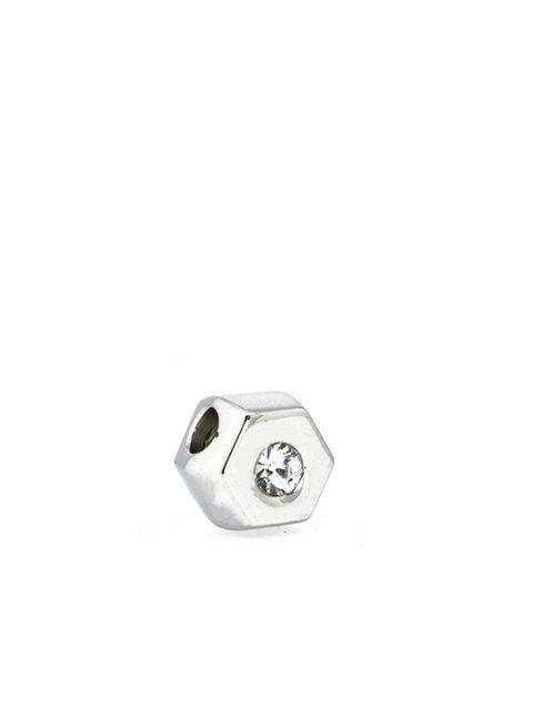 Hexagonal Becharmed White Sideview