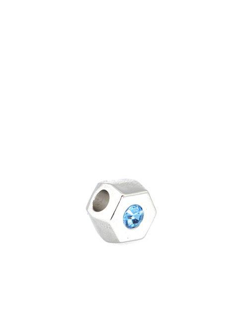 Hexagonal Becharmed Blue Sideview