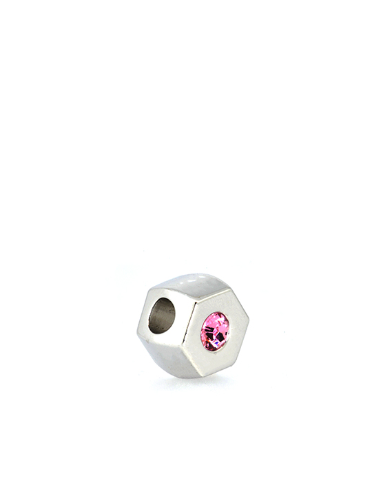 Hexagonal Becharmed Pink Sideview