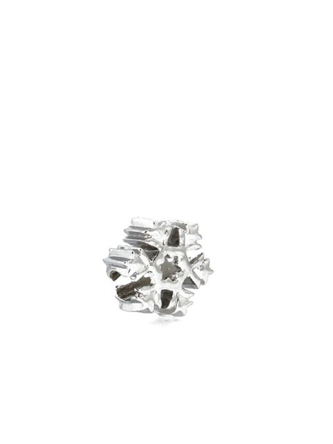 Fern snowflake rhodium becharmed sideview