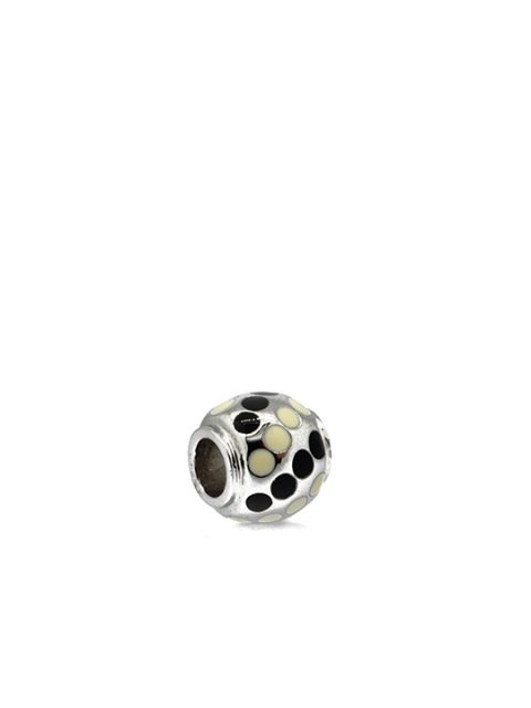 polka ball rhodium becharmed black sideview