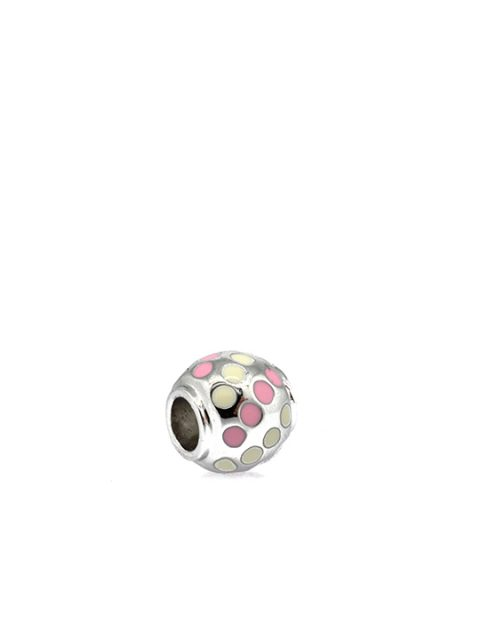 polka ball rhodium becharmed pink sideview