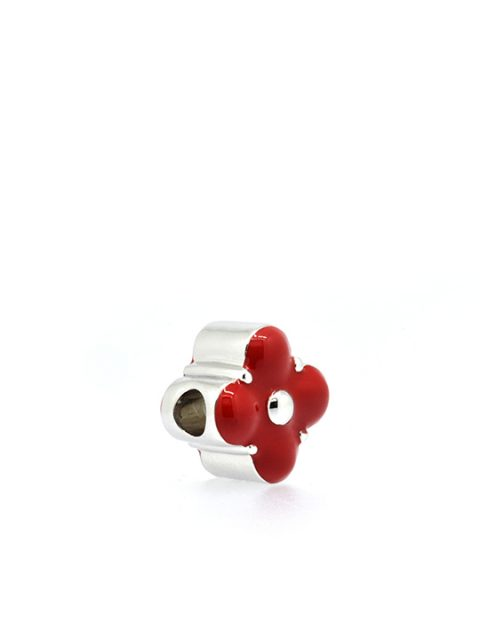 Primrose Rhodium BeCharmed Red Sideview