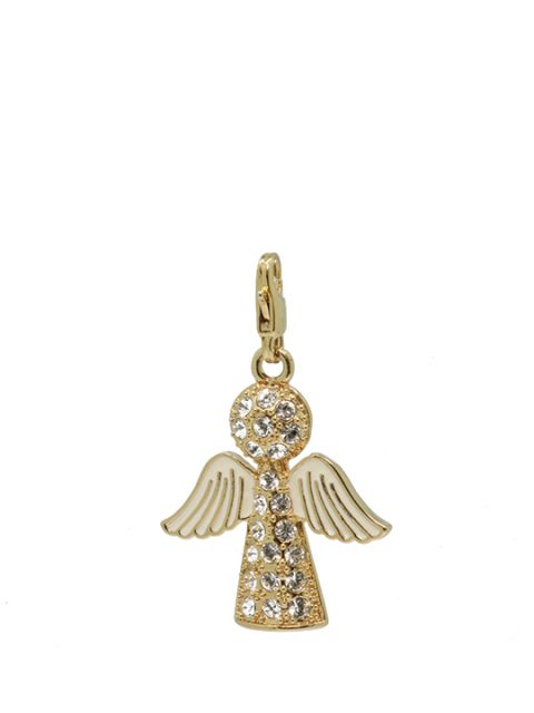 tree topper angel gold charm
