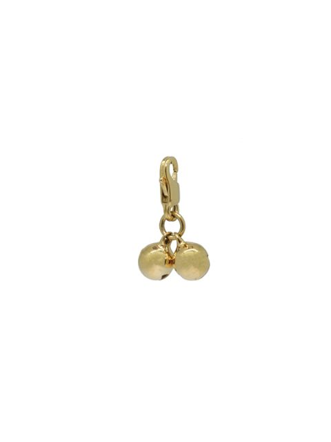 dore twin bells gold charm