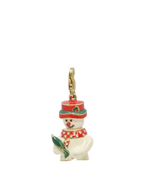 snowman umbrella of hope gold charm