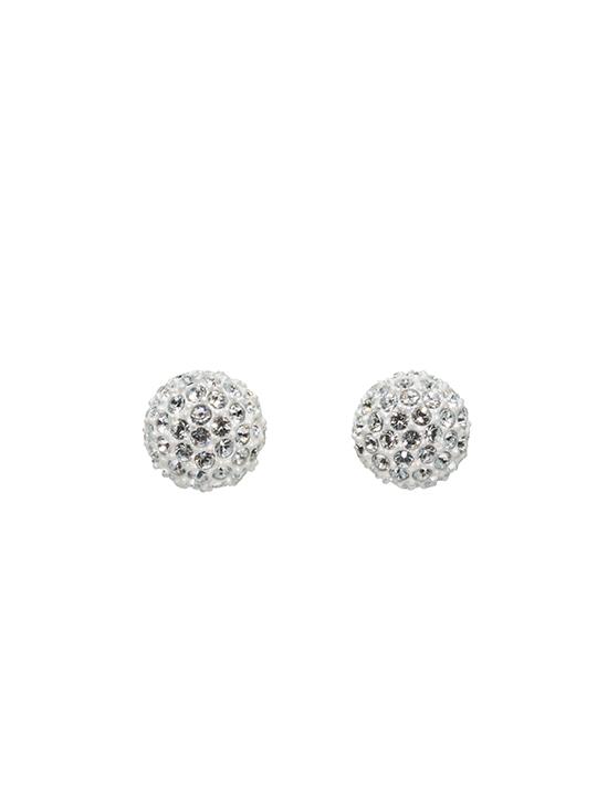 snowball earring studs