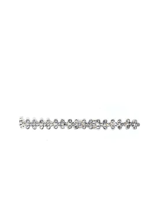 Posies Rhodium bracelet