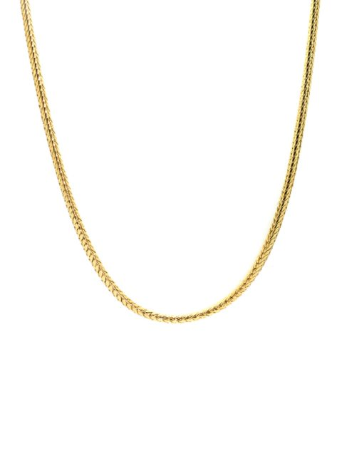 snakechain gold necklace
