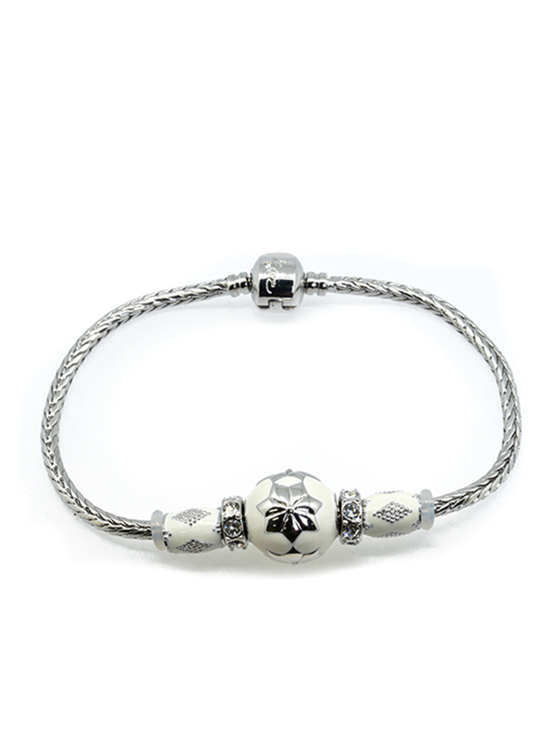 BC10067B@WHITE BREEZE BRACELET