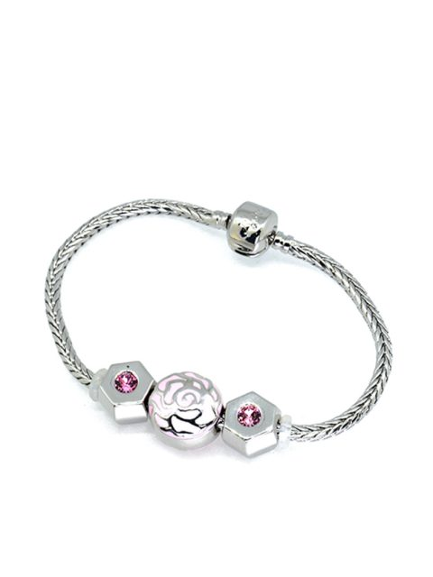 BC10068A@ENCHANTED PINK ROSE BRACELET