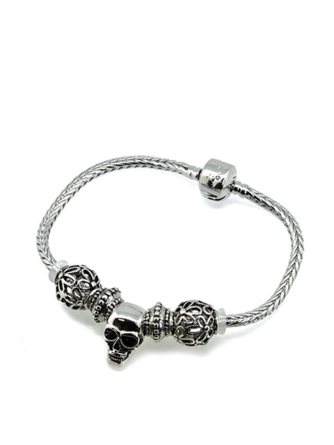 BC10077A@ANTIQUE SKULL BRACELET