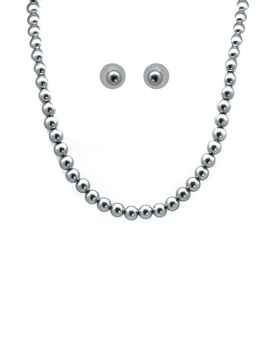 bijoux pearl necklace set