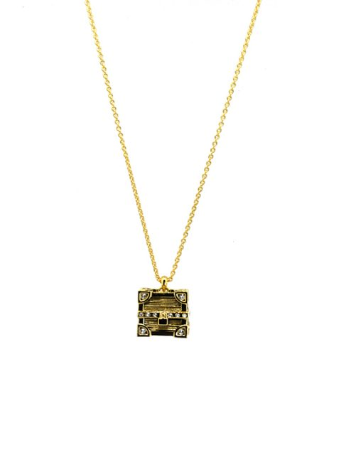 treasure chest necklace
