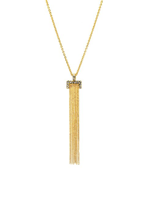 Tassel Chain Gold Necklace