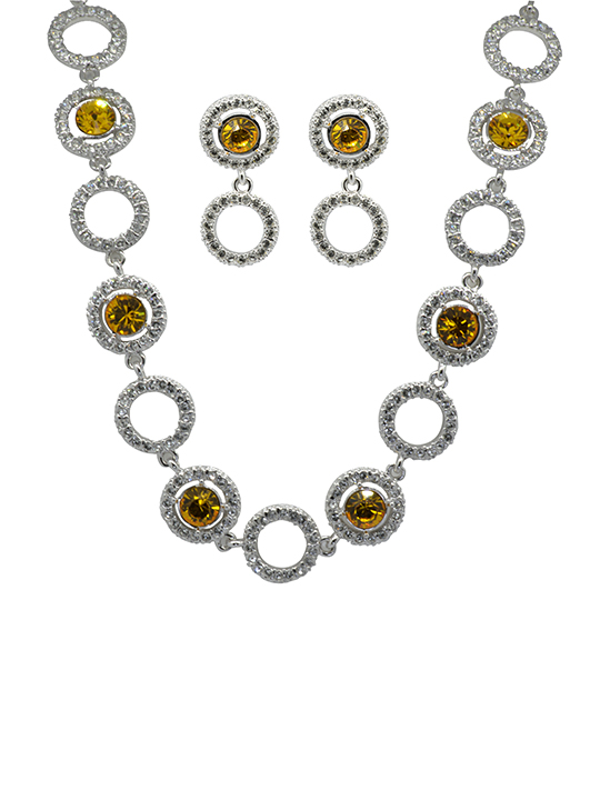 Sunrise necklace set